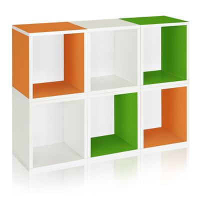 Way Basics® Storage Cubes Plus in Multi-Color (Set of 6)