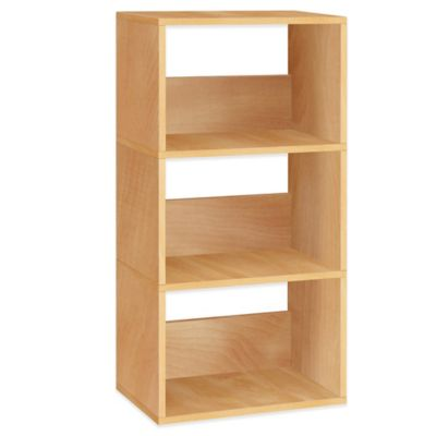 Way Basics Triplet Bookcase