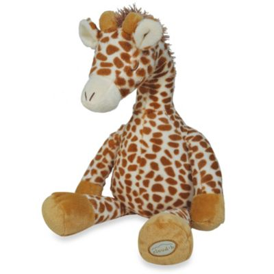 cloud b® Gentle Giraffe Travel Plush with Soothing Sounds