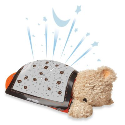 Harley-Davidson Starry Night Projector Bear