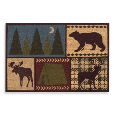 Lodge Camp Door Mat