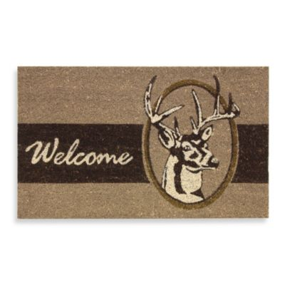 Deer Welcome Door Mat