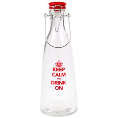 """Keep Calm"" 32 oz. Bail and Trigger Bottle"