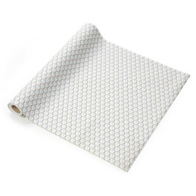 Con-Tact® Grip Prints Non-Adhesive Shelf Liner in Twirl Mint