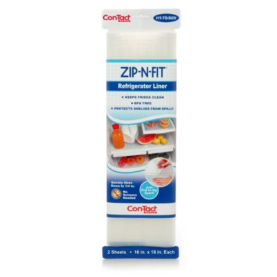 Con-Tact® Zip-N-Fit™ Refrigerator Liner (Set of 2)