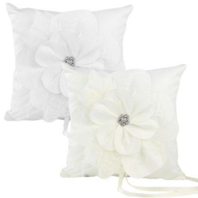 Ivy Lane Design Somerset Ring Pillow in White