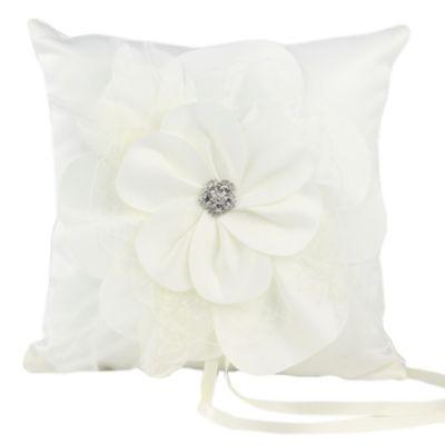 Ivy Lane Design Somerset Ring Pillow in Ivory