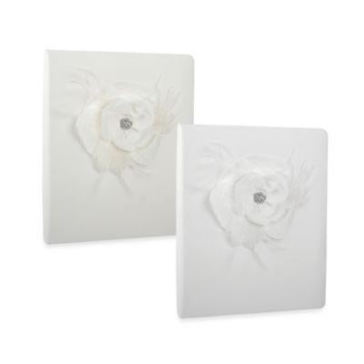 Ivy Lane Design Somerset Memory Book in White