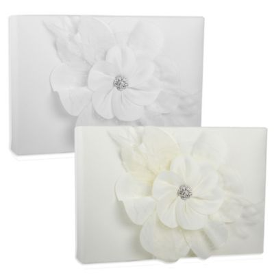 Ivy Lane Design Somerset Guest Book in Ivory