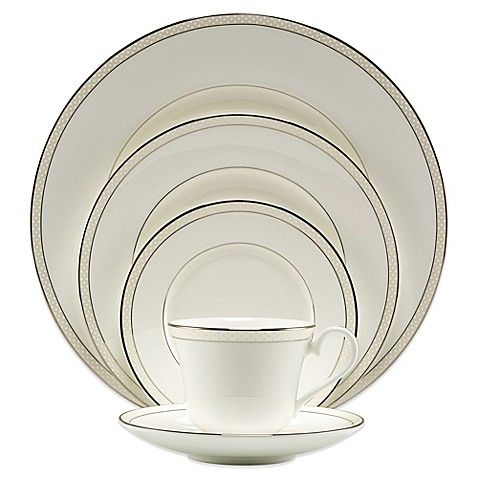 Nikko Platinum Beaded Pearl 5-Piece Place Setting