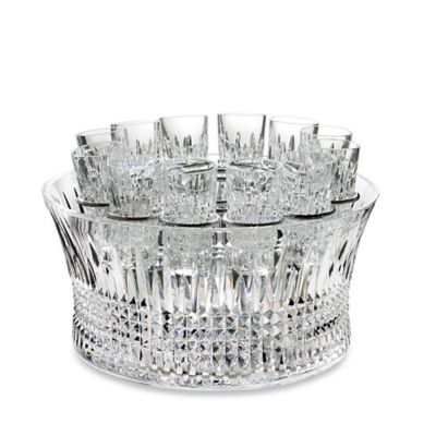 House of Waterford® Lismore Diamond Vodka Set