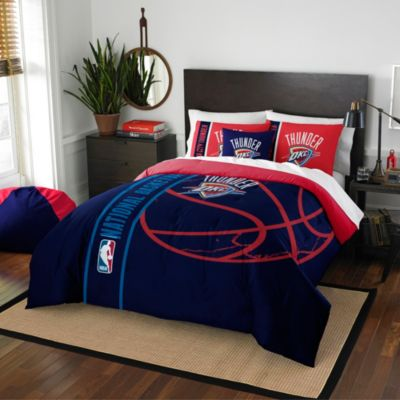 NBA Oklahoma City Thunder Twin Embroidered Comforter Set