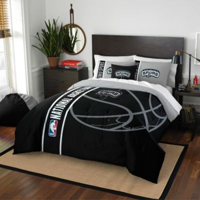 NBA San Antonio Spurs Full Comforter Set