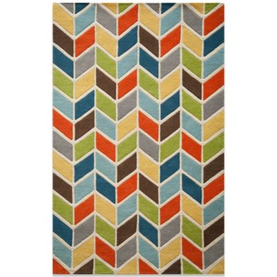 Momeni 8-Foot x 10-Foot Delhi DL-47 Rug in Multicolor
