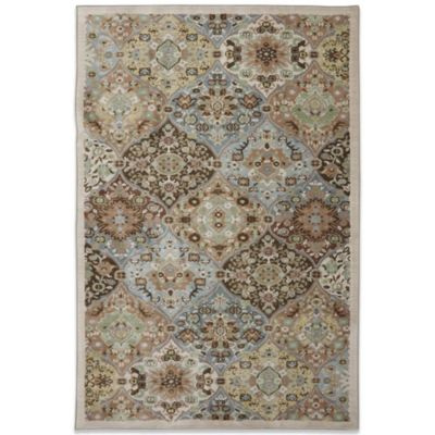 Mohawk Home Serenity Kirman Coast 2-Foot 1-Inch x 7-Foot 10-Inch Rug in Peat Moss
