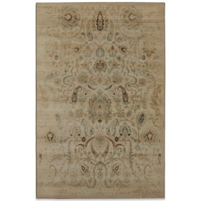 Mohawk Serenity Sentiment 5-Foot 3-Inch x 7-Foot 10-Inch Rug in Butter Pecan