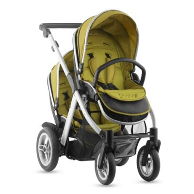 Joovy® Too Qool Silver Double Stroller in Avocado