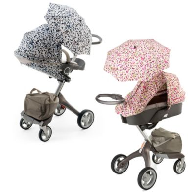 Stokke® Xplory® Summer Kit in Grey Lemon Stripes