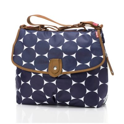 Babymel™ Satchel in Navy Dot