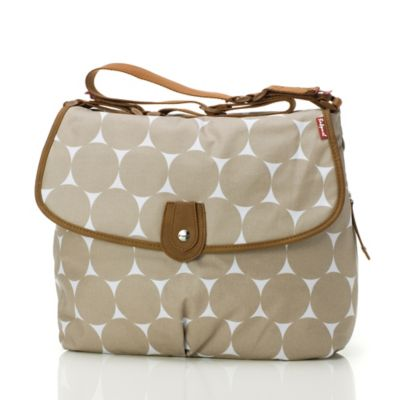 Babymel™ Satchel in Brown Dot