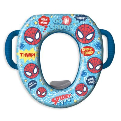 Potty Seats > Ginsey Ultimate Spiderman Soft Cushioned Potty Seat