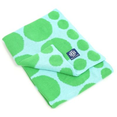 Bella Tunno™ Connect the Dots Stroller Blanket in Lime