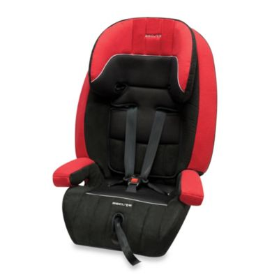Secure Commander 3-in-1 Deluxe Car Seat in Black/Red