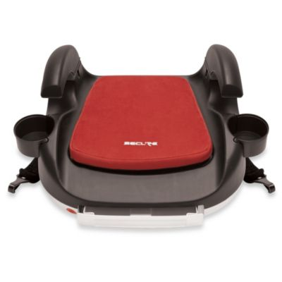 Secure RPM Deluxe Booster Car Seat with Latch in Red
