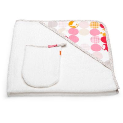 Stokke® Hooded Towel in Pink