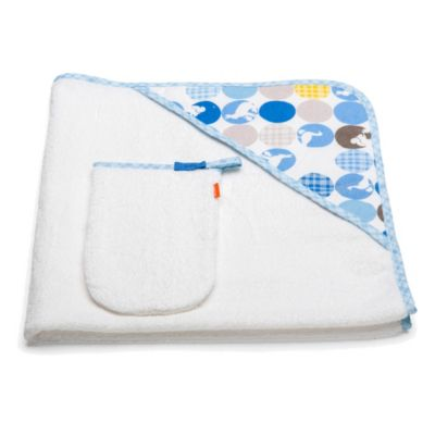Stokke® Hooded Towel in Blue