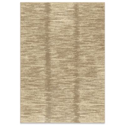 Utopia Collection 5-Foot 3-Inch x 7-Foot 6-Inch Lands End Adobe Rug