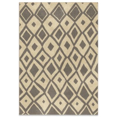 Utopia Collection 5-Foot 3-Inch x 7-Foot 6-Inch Larco Gray Rug