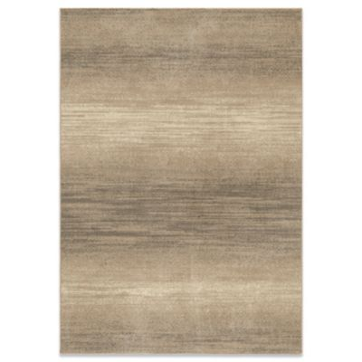 Orian Utopia Stormfront 5-Foot 3-Inch x 7-Foot 6-Inch Rug in Adobe