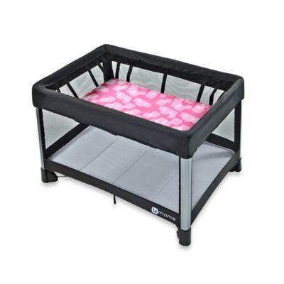 4moms® breeze® Waterproof Bassinet Sheet in Raspberry