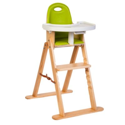High Chairs > Svan™ Baby-to-Booster High Chair in Natural/Lime