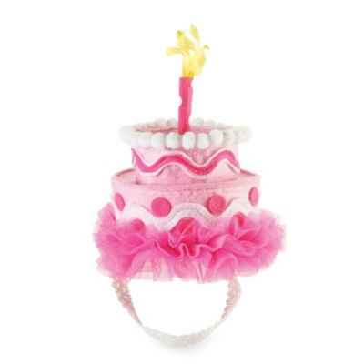 Mud Pie® Pink Felt Cake Headband
