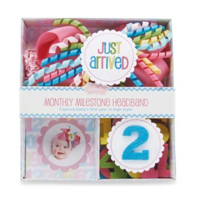 Mud Pie® Monthly Milestone Headband