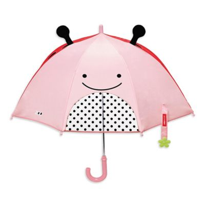 SKIP*HOP® Zoobrella Little Kid Ladybug Umbrella in Pink