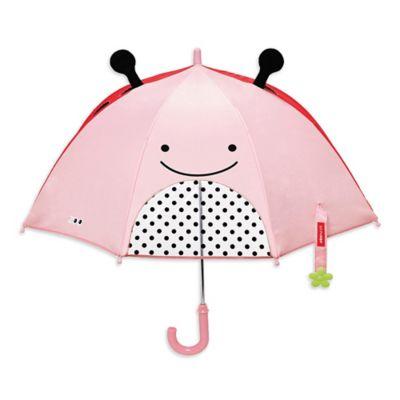 Summer > SKIP*HOP® Zoobrella Little Kid Ladybug Umbrella in Pink