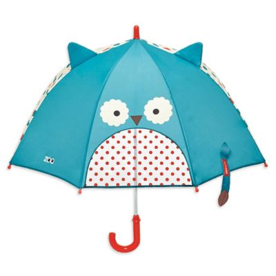 SKIP*HOP® Zoobrella Little Kid Owl Umbrella in Blue