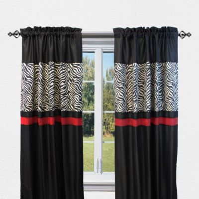 Buy Red Window Curtains From Bed Bath Beyond