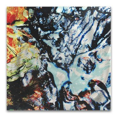 Boiling Point Paint Splatter Abstract Wall Art