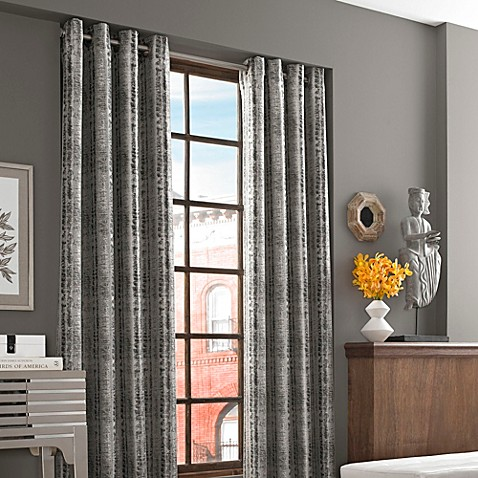 J Queen New York River Birch Window Curtain Panel Bed