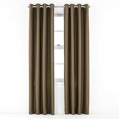 J Queen New York Birch Grommet Window Curtain Panel Bed Bath Beyond