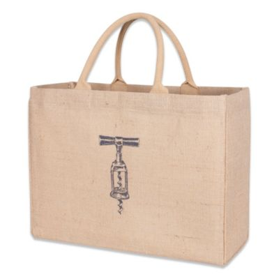 Corkscrew Jute Market Bag