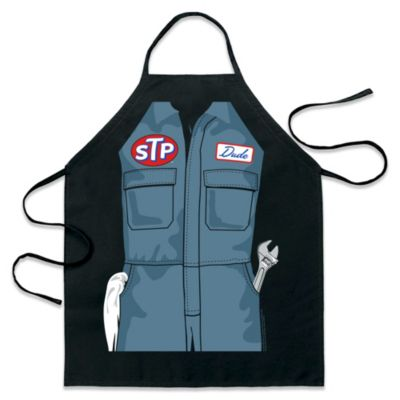 ICup STP Mechanic Be-the-Character Apron in Black