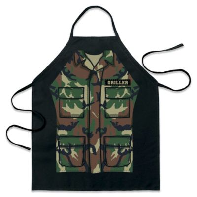ICup Army Fatigues Be-the-Character Apron in Black