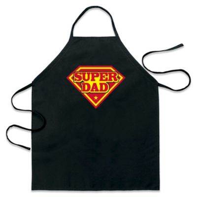 ICUP Super Dad Apron in Black