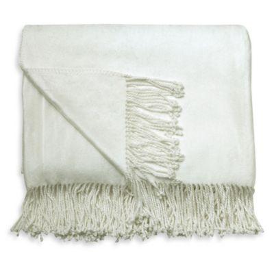 Charisma Premium Throw Blanket in Vanilla
