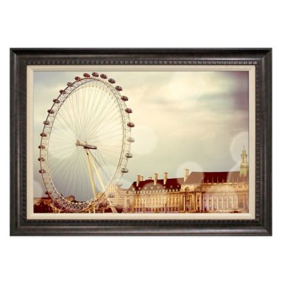 """London Eye"" Canvas Art"